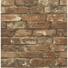 You'll love the Gentlemen's Quarters Oxford 33' x 20.5 Brick Wallpaper at Wayfair - Great Deals on all Décor products with Free Shipping on most stuff, even the big stuff.