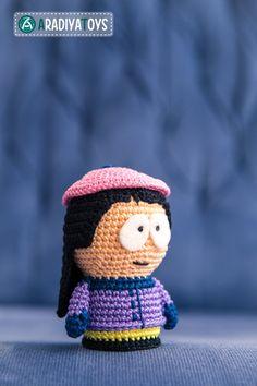 Wendy Testaburger from 'South Park', amigurumi toy by Aradiya9