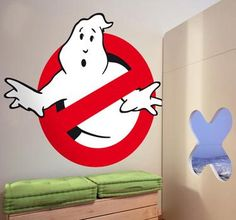 Jazzing up the Kids bedroom with Wall Stickers - ChelseaMamma Famous Movie Scenes, Ghostbusters Logo, Ghost Busters, School Photos, Logo Sticker, Kids Bedroom, Kids Rooms, Cozy House, Wall Stickers