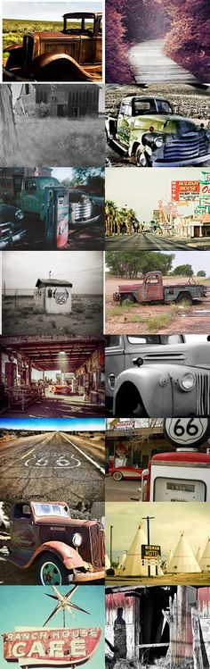 Route 66! Pay it forward game!! by BeLuli Designer on Etsy--Pinned+with+TreasuryPin.com