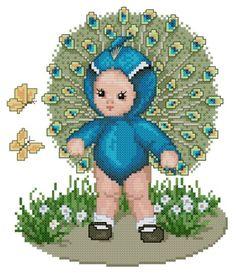 Peacock baby by Ellen Maurer-Stroh