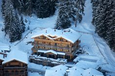 Richard Branson's luxury #ski lodge in Verbier, #Switzerland is reopening. #skitrip #europe #skidestination #wintertravel