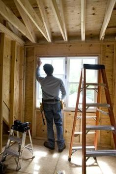 When to Call a Home Improvement Contractor. Home Improvement Help . Home Improvement Contractors, Home Improvement Loans, Home Building Tips, Building A House, Building Ideas, Cabana, Home Renovation, Home Remodeling, Up House