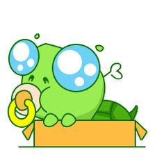24 Cute funny turtle, facial expression chat emoji gifs Emoticons Emoticon, Emoji, Funny Turtle, Cute Turtles, Turtle Love, Line Sticker, Facial Expressions, Funny Art, Gifs