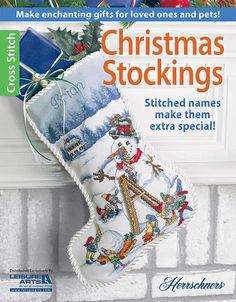 Christmas Stockings Cross Stitch Patterns A great way to make gifts for family and even pets is to cross stitch their very own Christmas stocking.  Hanging these treasures on the fireplace every year will remind them just how special they are and bring back memories each time they pull them out of storage. What a wonderful way to show someone…