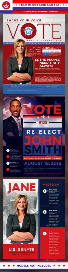 Free Political Campaign Flyer Templates   Free Political Campaign