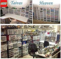 Askartele ja leiki lastenlasten kanssa: 25. Lego, säilytys, storage, bevaring, huolto yms.