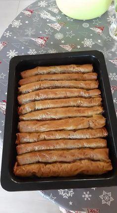 Non Chocolate Desserts, Greek Desserts, Kinds Of Desserts, Greek Recipes, No Bake Desserts, New Recipes, Dessert Recipes, Easy Cooking, Cooking Recipes