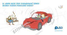 Kreatywny pomysł naprawy auta w wykonaniu pracownika ;) #WyprzedzWypadek