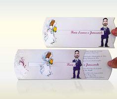 Modelos de Convites de casamentos diferentes ( Foto: Divulgação)/