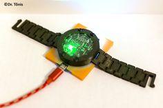 3d-printed analog-digital hand watch. Hand Watch, Diy Projects, 3d, Printed, Digital, Blog