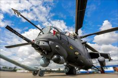 Known by the nickname Crocodile and also as Glass because of its flat glass cockpits, the Mi-35M is a completely renovated and modernized version of the earlier Mi-24.