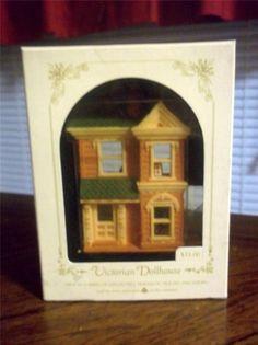 "Hallmark Ornament Nostalgic Houses and Shops ""Victorian Dollhouse"" 1984"