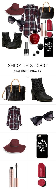"""basketweave - bag&shoes"" by ruth-jaimie-hollingsworth on Polyvore featuring Dooney & Bourke, Free People, Halogen, Chanel and Satine"