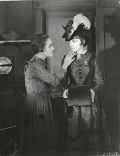 Still from the 1924 silent film So Big.  The film is lost.
