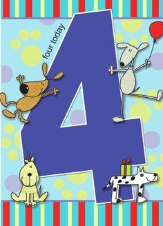 4th Birthday Boys, Birthday Wishes For Kids, Happy Birthday Baby, Art Birthday, Happy Birthday Images, Birthday Pictures, Birthday Messages, Birthday Greetings, Birthday Cards