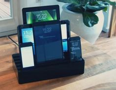 Multi Device Charging Station | ... multiple devices including smartphones, tablets, gaming devices, etc