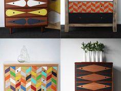 relooker-des-meubles-commodes-relookées-avec-motifs-scandinaves