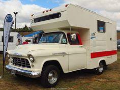 New Zealand Housetrucks Truck Bed Camper, Camper Van, Old Trucks, Chevy Trucks, Online Home Design, Rv Motorhomes, Classic Campers, Old Campers, Home Design Magazines