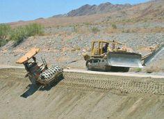 Twitter Mining Equipment, Heavy Equipment, Earth Moving Equipment, Cat Machines, Crawler Tractor, Big Rig Trucks, Civil Engineering, Caterpillar, Abandoned Places