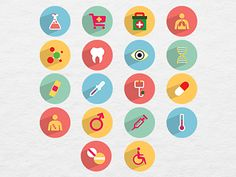 36 Free Medical and Health Icons by Ferman Aziz