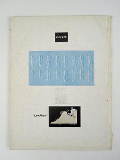 Olivetti Lexikon ad, 1955