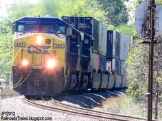 RAILROAD Freight Train Locomotive Engine EMD GE Boxcar BNSF,CSX,FEC,Norfolk Southern,UP,CN,CP,Map : Locomotives AC44CW
