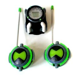 Ben 10 OMNITRIX electronic toy LCD device Plus Walkie Talkie set