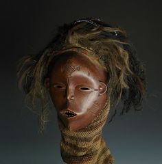 Gallery of a Luvale Nalindele Pwevo Mask – The Strong Woman