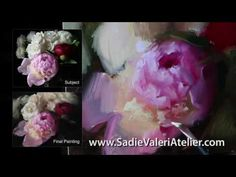 Painting Peonies Alla Prima - Sample Clip - YouTube
