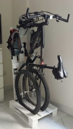 Bike rack palet