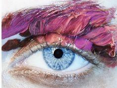 Sjarde Kirioma using Ellis Faas make-up