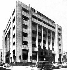 Guardiola Building downtown Mexico City 1939