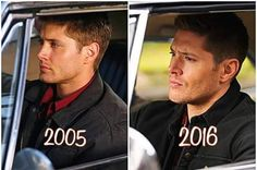 Jensen doesnt age.... he just levels up