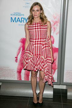 Diane Kruger in Simone Rocha
