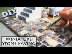 Miniatures Stones (made with egg cartons!) - YouTube