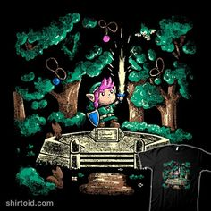 The Master Sword | Shirtoid #gaming #jmarme #link #mastersword #thelegendofzelda #videogame