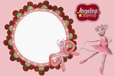 Angellina Ballerina Invitations