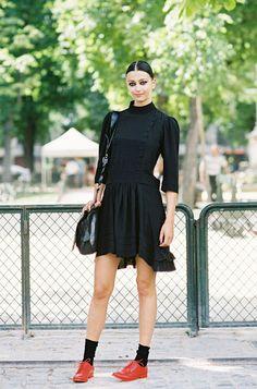 #fashion-ivabellini Vanessa Jackman: Paris Couture Fashion Week AW 2012/13...Morgane