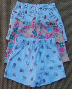 Sleepytime Kids' Shorts | AllFreeSewing.com