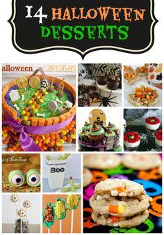 14 Halloween Desserts