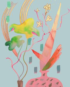 my ikebana on Behance