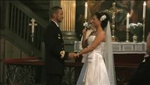"""BRIDE sings """"from this moment on"""" to the Groom. Click or touch picture of them...you can watch it too!:-)"""