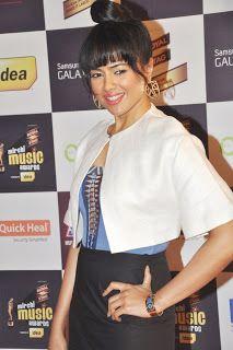 Sameera Reddy at The 5th Mirchi Music Awards.