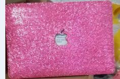 Check out this item in my Etsy shop https://www.etsy.com/listing/225033716/laptop-case-rhinestone-macbook-case