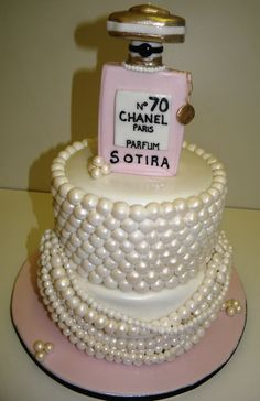 Chanel Pearl Cake