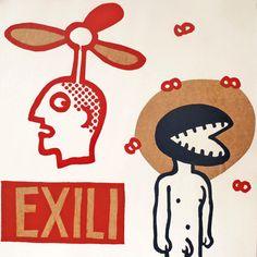 exilio por ARTeFAKTshop en Etsy