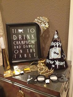 DIY decor from New Years Eve!