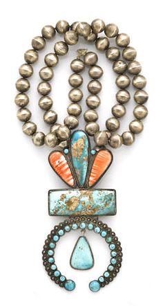 A Navajo necklace