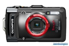 """The Olympus Tough iHS rugged, waterproof point-and-shoot, in my opinion, is the best waterproof camera ever. Olympus calls it """"lifeproof,""""and that's w Best Waterproof Camera, Monitor, Cameras Nikon, Best Digital Camera, Point And Shoot Camera, Cmos Sensor, Camera Reviews, Photography Equipment, Video Camera"""